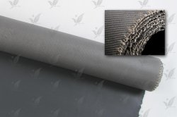 for Smoke Curtain Fireproof Material Silicone Rubber Fabric