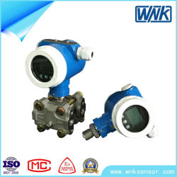 Explosion Proof 4~20mA/Hart/Profibus-PA Industrial High Temperature Pressure Transmitter with Accuracy 0.075%Fs