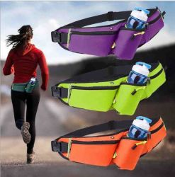 Nylon Outdoor Sports Mobile Running Fanny Waterproof Multifunctional Men's and Women's Tactical Marathon Kettles Pack Bag