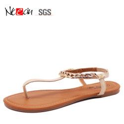 25076d220ab Fashion Design Leather Upper for Girls Sandal