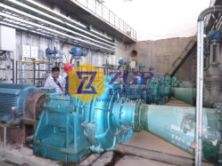 Horizontal Heavy Duty Abrasion Resistant Mineral Processing Ah Slurry Pump