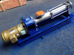 G Cast Iron or Stainless Steel Screw Mono Pump
