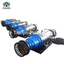 Mining Chemical Industry Submersible Slurry Pump with Electric Motor