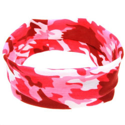 2018 New Promotion Custom Logo Polyester Headband Sport