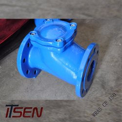 DIN Cast / Ductile Iron Flange End Float Ball Type Check Valve