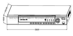 8 Channel 5MP/4MP/3MP/2MP Ahd Tvi Video Record DVR Manufacturer