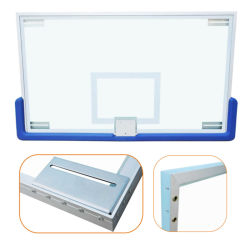 China Factory OEM Tempered Glass Basketball Backboard for Sports Equipment Manufacturers