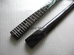 Gloss Finished Strat Black 21 Frets Guitar Neck (STBB)