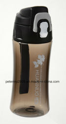 450ml Hot Selling Good Quality Plastic Sport Unique Water Bottle, Easy to Use (HN-3003)
