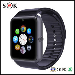 2016 Sek Best Price Factory Customized Manufactoring Smart Sport Watch Gt08 with Bluetooth Camera