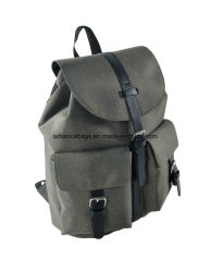 Hot Sale Two Tone Material Business Shopping Leisure Travel Backpack