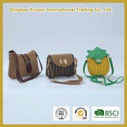 Fashion Straw - Woven Pineapple Beach Bag for Girl