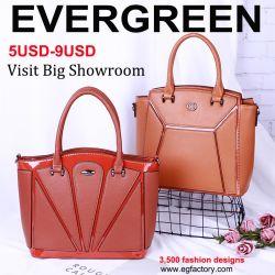 c5c050fa5ede New Design Handbag Elegant Lady Hand Bag Contrast Color Bag Leather Tote  Shoulder Bag for Women