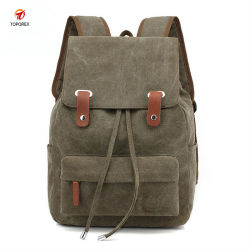 Wholesale Fashion Customized Waterproof Sport Canvas Bag Shopping Backpack