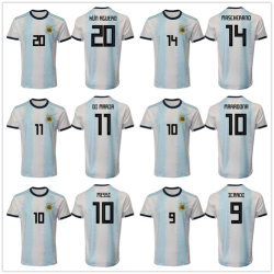 240450443 Argentina National Team 2019 Home Authentic Football Soccer Jersey