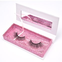Wholesale Good Quality Private Label Natural Mink Eyelashes