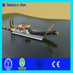 16 Inch Sand Mining Cutter Suction Dredger for Land Reclamation (TYPE: TK4010)