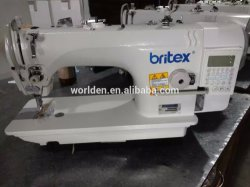 Wd-8900d Direct Drive Single Needle Lockstitch Flat Lock Industrial Sewing Machine for Jeans with Competitive Price