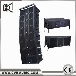 Cvr Hot Sale Line Array Sub-Bass System Dual 10 Inch Empty Box