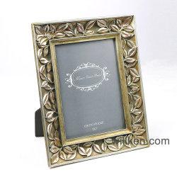 Resin Antique Gold Baroque Photo Frame