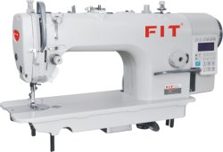 High Integrated Mechatronic Computerized Direct Drive Lockstitch Sewing Machine with Auto Trimmer