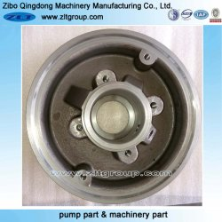 Machinery Sand Casting Pump Part for Stuffing Box Cover