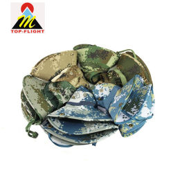 ead5beaecdb Foldable Cotton Military Camo Wholesale Bucket Hats with String
