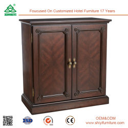Factory Price Beautiful Solied Wood Cupboard