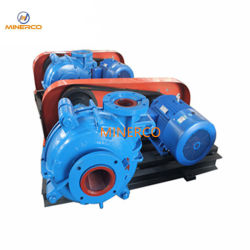 Easy Installation Wear Resistant Slurry Water Pump with High Chrome Alloy Liner