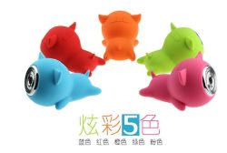 2017 Best Sale Factory Wholesale Soft Cute Pig Hero Blue Tooth Speaker