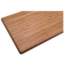 Top Quality Bamboo Height Adjustable Standing Desktop