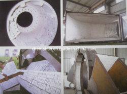 Abrasion Resistant Alumina Oxide Ceramic Lined Hopper