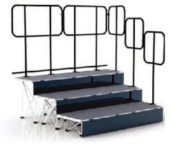Aluminum Folding Modular Portable Stage Step