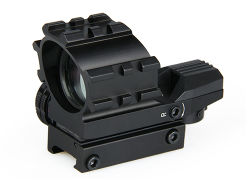 Gun 1X33 Red and Green DOT Rifle Scope Reflex Sight