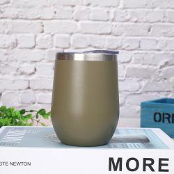 12oz High Quality Vacuum Wine Flask Double Wall Stainless Steel Coffee Mug