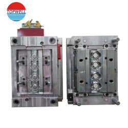 China Mold Factory Custom Design Die Casting Tooling Parts Double Plastic Injection Mould for Household/Electronic Products with PP/POM in Molding Company