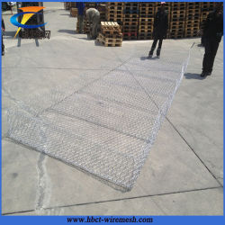 High Quality Hexagonal Galvanized River Bank Gabion Mesh for Protection
