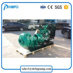 Electric Motor Driven Slurry Centrifugal Mining Pump with Belt Driven