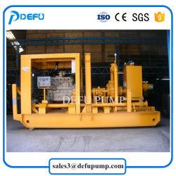 Diesel Engine Sewage Sand Transfer Horizontal Slurry Centrifugal Pump