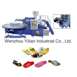 PVC Single Color Cloth Shoes Sport Shoes Making Machine Price