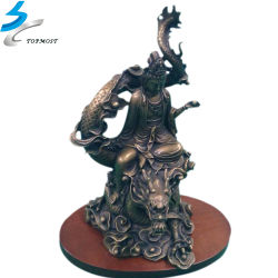 Decorative Artwork Hardware Bronze Metal Crafts Character Statue for Home