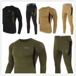 3-Colors Esdy Tactical Outdoor Sports Warm Thermal Underwear Set