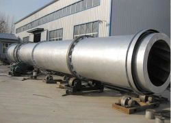 Small Single Drum Rotary Dryer for Coal Slurry/Limestone/Mineral Concentrate Price