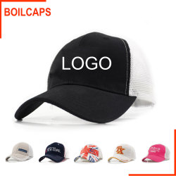 Custom Wholesale Promotional Fashion Trucker Cap Hat with Embroidery Logo 19bda11b446