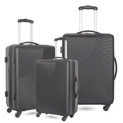 2018 New ABS PC Travel Luggage Trolley with Small Order Accepted