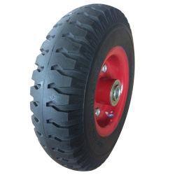 Good Price 3.00-4 Solid PU Foam Trolley Wheel for Tool Cart