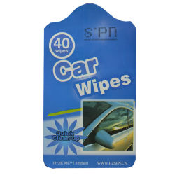 New Product Car Window Cleaning Wet Wipes Stain Remover Wipe
