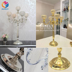 China Crystal Candle Holder Centerpieces, Crystal Candle Holder ...