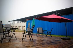 New Container House Cafe for Sale