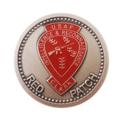 Custom Commemorative Challenge Souvenir Military Sport Gold Old Metal Coins for Promotion Gift